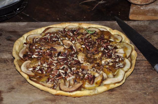 Gary's LaSoleiade pear tart.