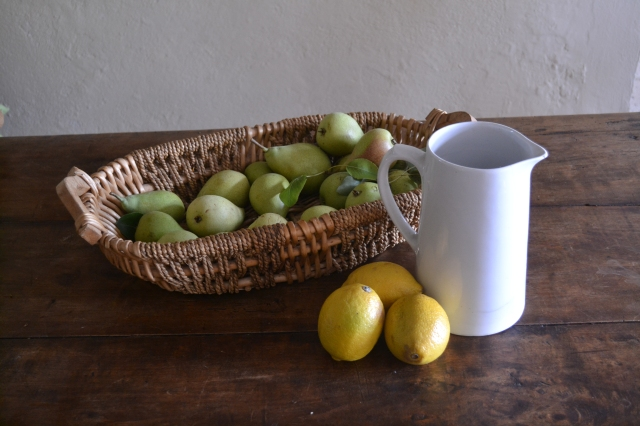 Pears and Lemons from LaSoleiade fruit trees