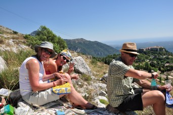 picnic over Gourdon